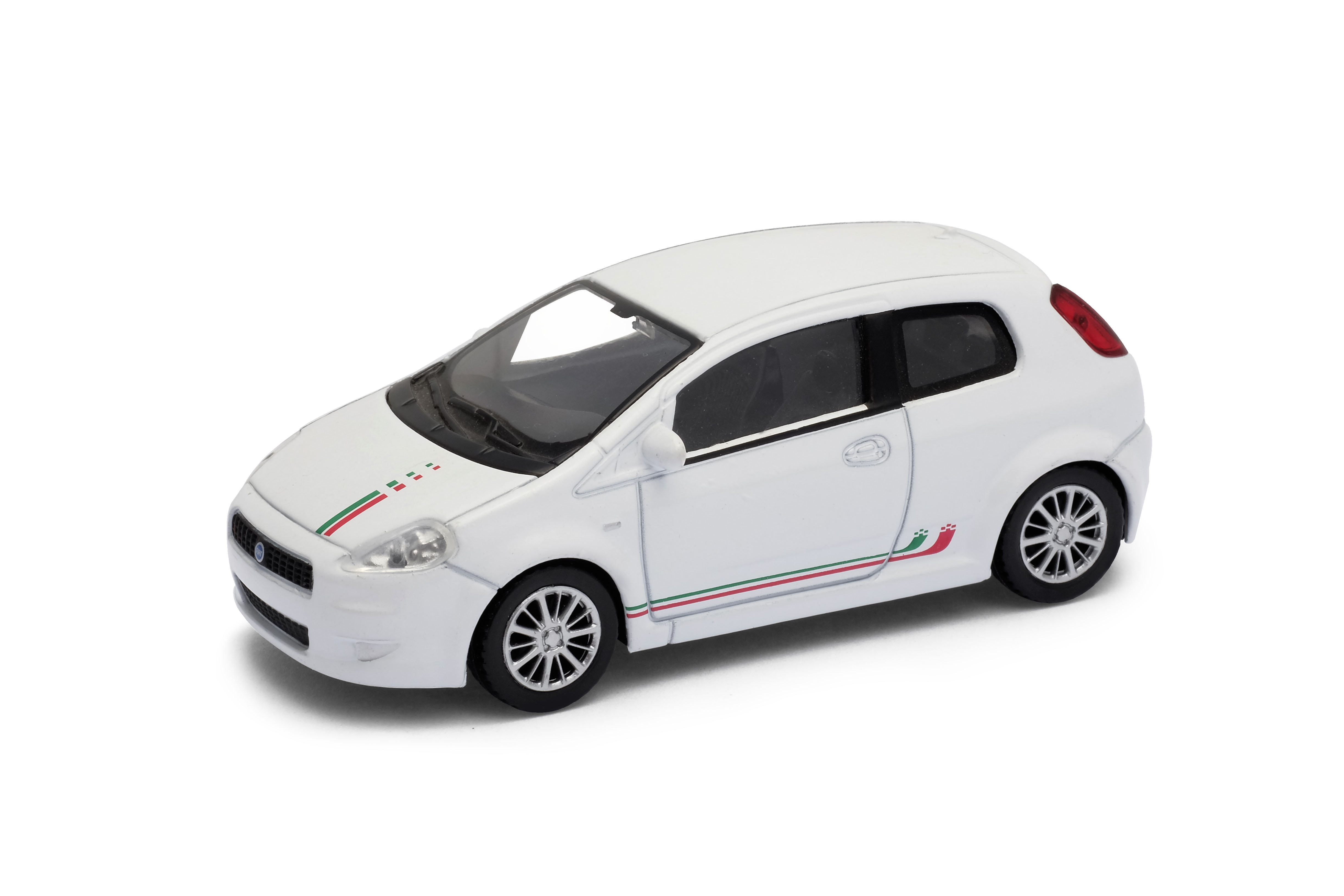 Welly - Fiat Grande Punto model 1:43  červená