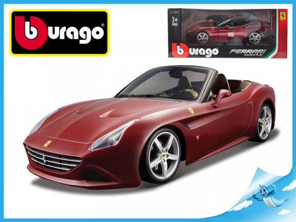Bburago Auto Race & Play Ferrari California T (open top) 1:24