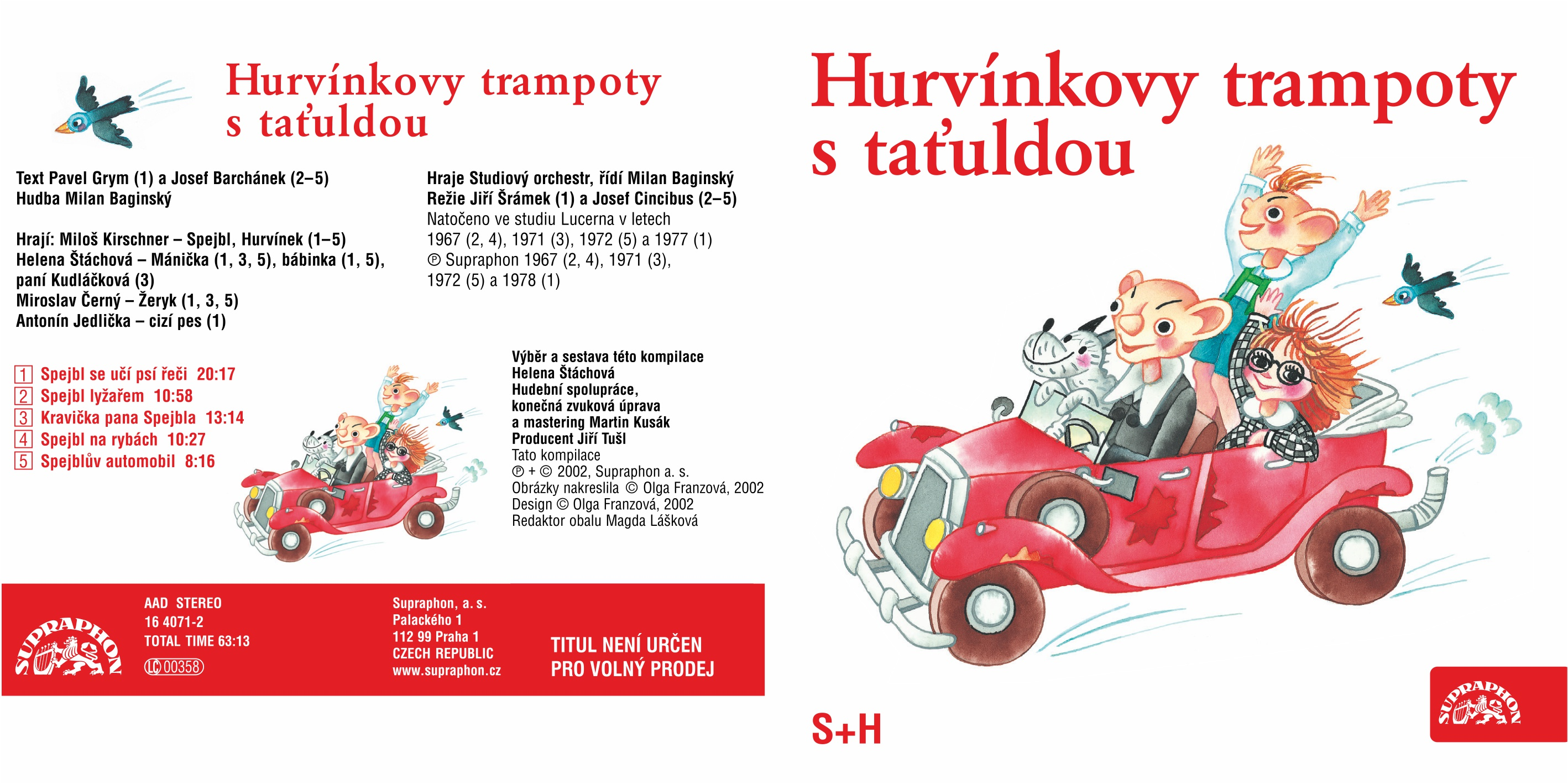 Audio CD - Hurvínkovy trampoty