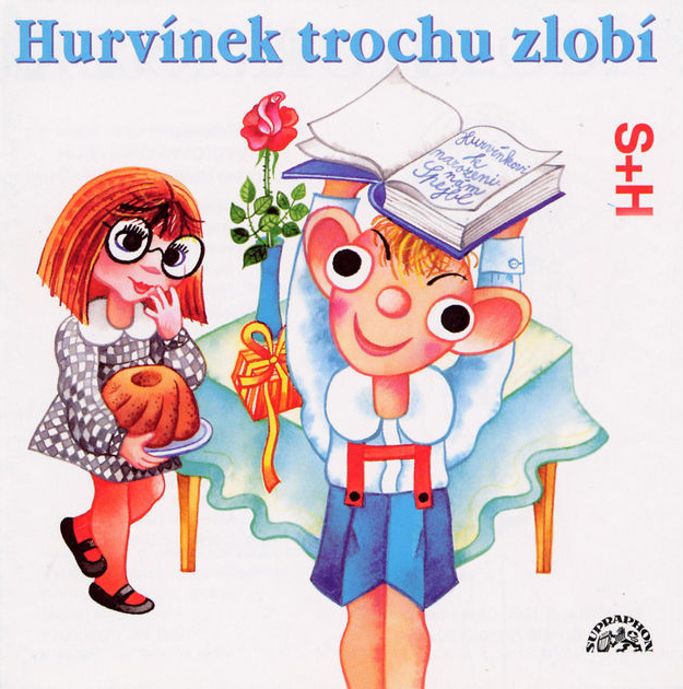 Audio CD - Hurvínek zlobí